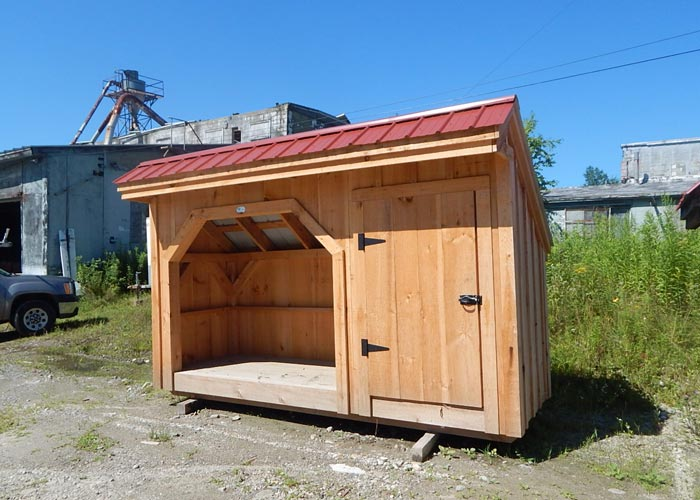 4 x 10 shed prefab wooden shed wood storage sheds kits for Prefab storage sheds