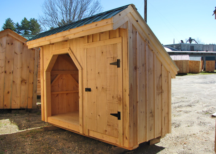 4 x 10 shed prefab wooden shed wood storage sheds kits for Small shed kits