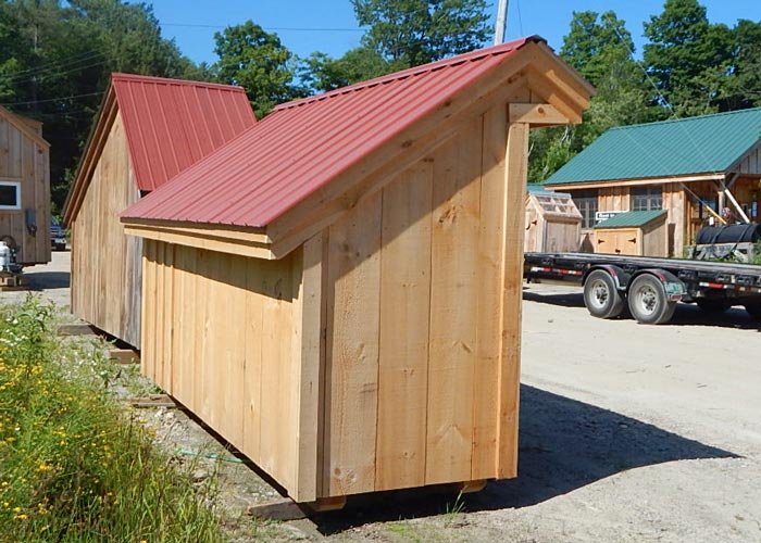 4 X 10 Shed Prefab Wooden Shed Wood Storage Sheds Kits