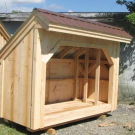 4x8 Woodbin - Exterior