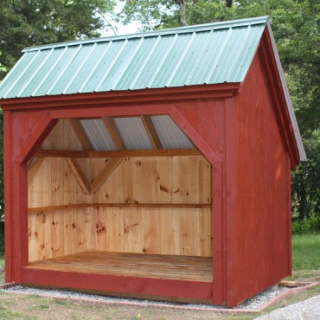 6x10 woodbin for Wood sheds for sale