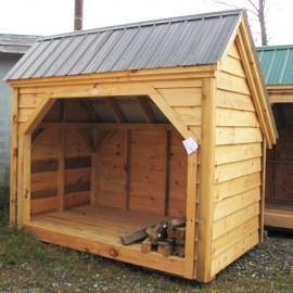 6x10 Woodbin - Adirondack Siding
