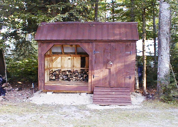 Firewood Storage Shed Kit Wood Sheds For Firewood
