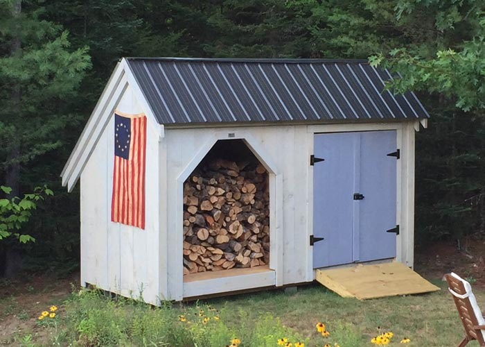 Firewood Storage Shed Kit Wood Sheds For Firewood