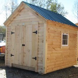 8x Gable - Custom exterior