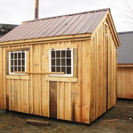 8x10 Gable - Custom Exterior