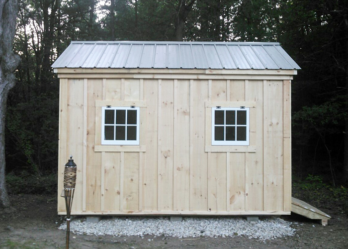 Wooden storage sheds plans for sheds jamaica cottage shop for Board and batten shed plans