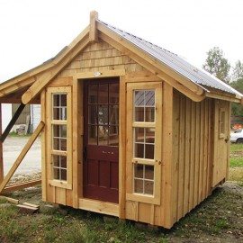 8x12 Custom She-Shed