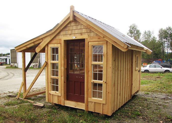 Wooden storage sheds plans for sheds jamaica cottage shop for Prefab she shed