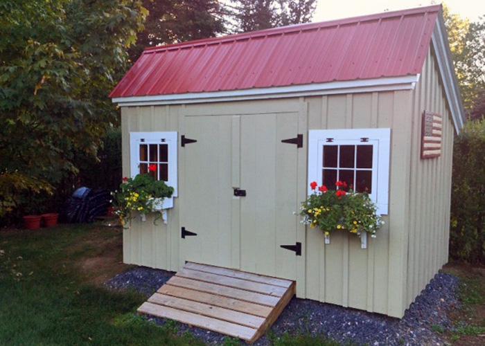 Garden Sheds Canada saltbox shed | saltbox shed kits | jamaica cottage shop