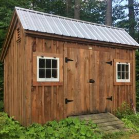 8x12 Saltbox - Exterior