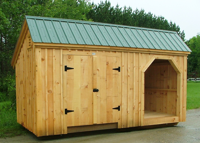 Large shed plans shed with wood storage wooden storage for New barns for sale
