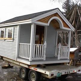 10x16 Pond House - custom exterior