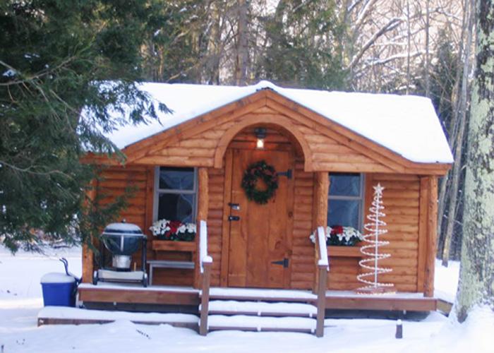 Gibraltar cabins gibraltar cottages jamaica cottage shop for Log house siding options