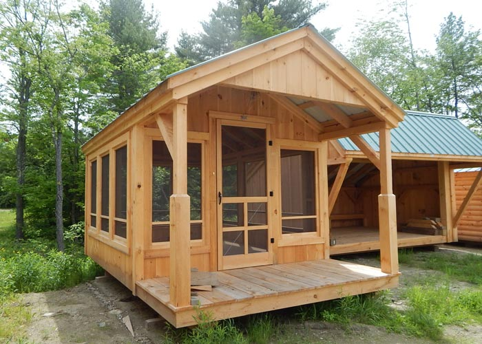 Prefab Cabins From The Jamaica Cottage Shop