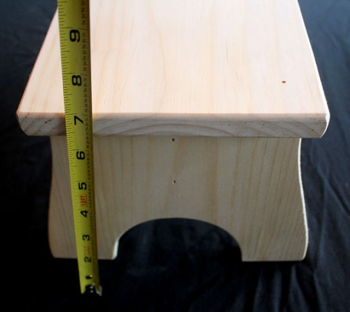 Hand crafted Step Stool
