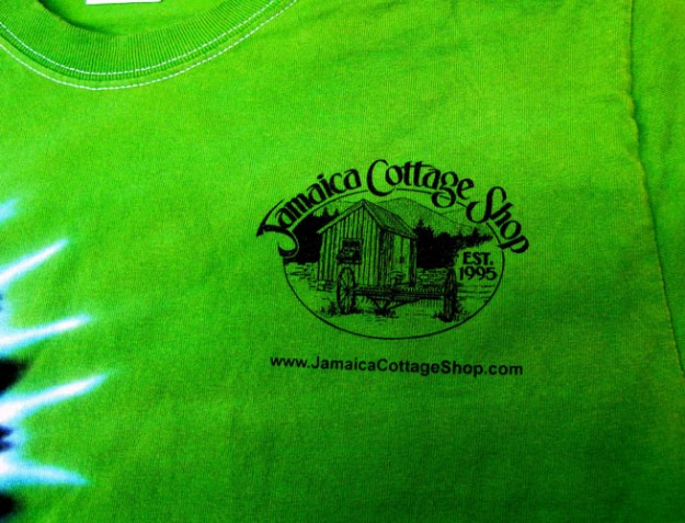 Jamaica Cottage Shop T-shirt