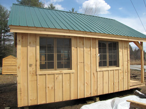 Vermont Cottage Option C Exterior