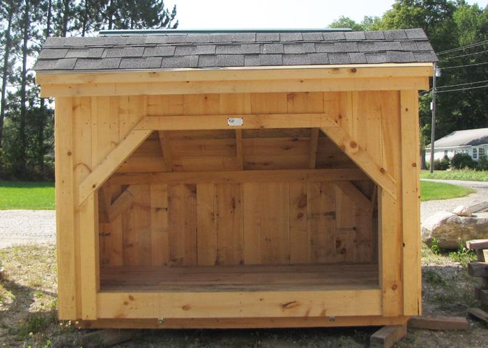 Outdoor Firewood Storage Prefab Wood Storage Sheds