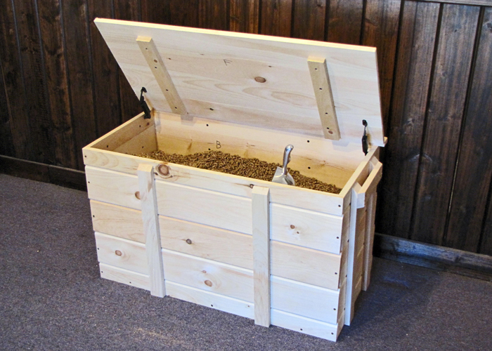 Wood Pellet Storage Bins Containers