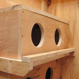 Pine Nesting Box