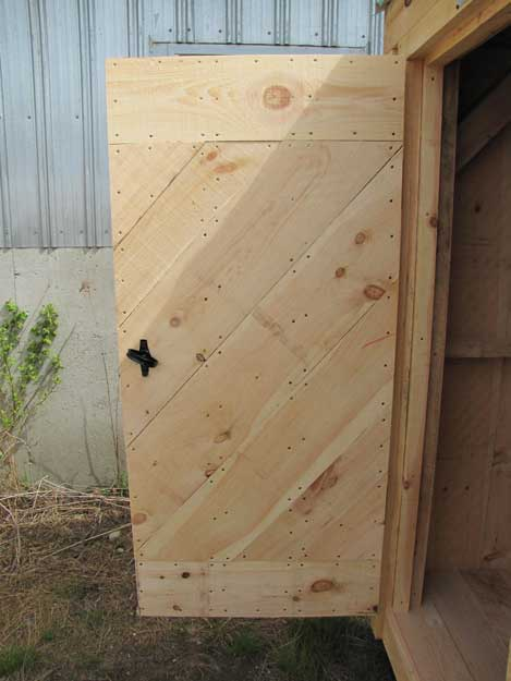 Eastern White Pine Arched Doorway opened