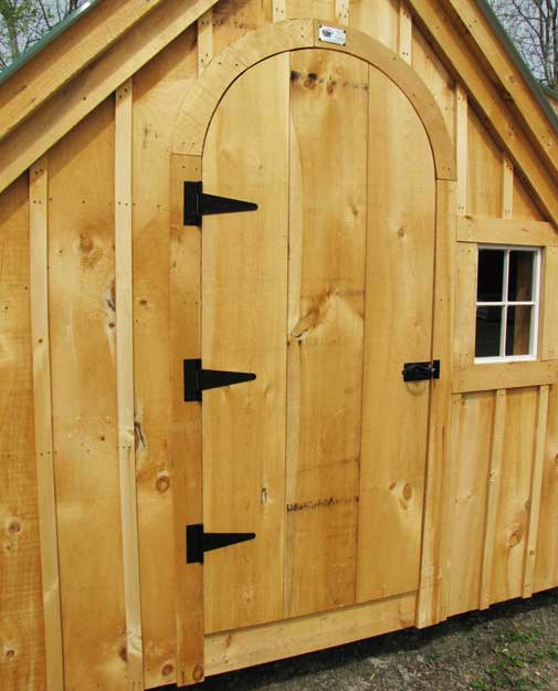 Arched doors for Sheds or cottages.