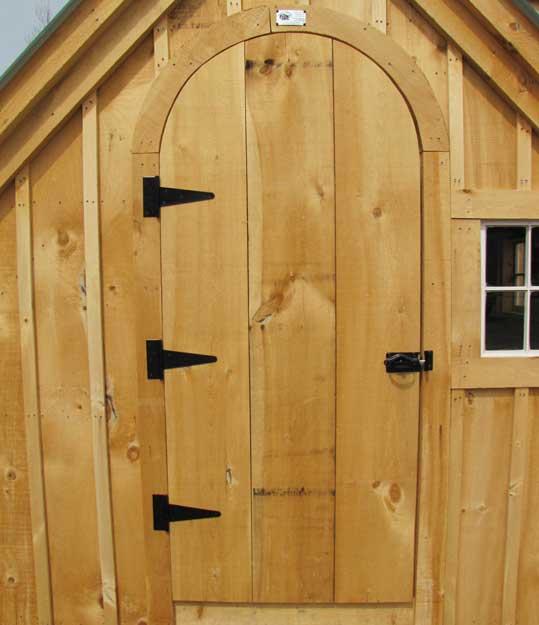 Arched Doorway is handmade in Vermont.