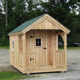 8x12 Garden Shed - custom exterior