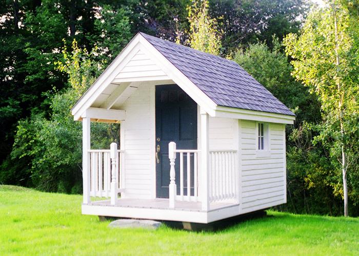 Garden potting sheds wood playhouse kit jamaica for Potting sheds for sale