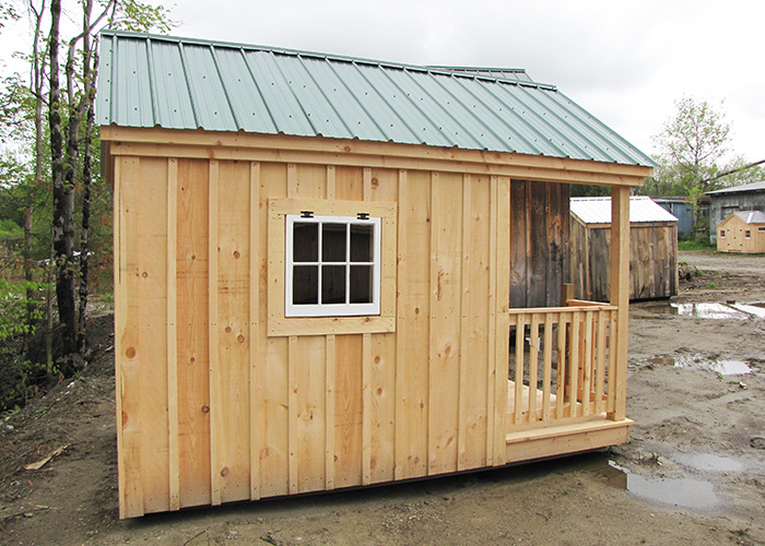 Garden Shed Playhouse Combo