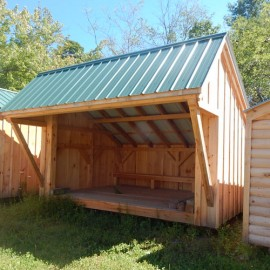 10x14 Camp Alcove - Clearance lean-to