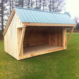 10x14 Lean To - Exterior