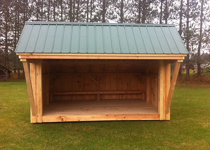10x14 Camping Shelter Now Offered By Jamaica Cottage Shop
