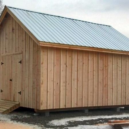 20 barn home shop sheds shed kits for sale 16 20 barn the 16 20 barn ...