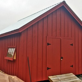 16x20 Barn - Exterior