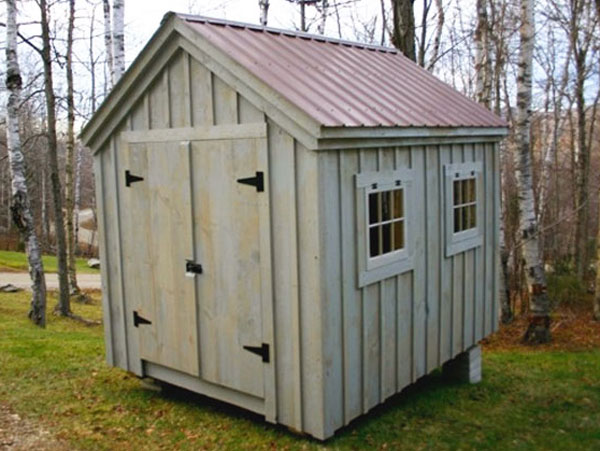 Equipment shed plans free shed plans roof deck for Equipment shed plans free