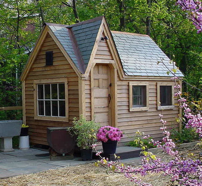 Who knew that roofing could be so cute by kim rak for Shed roof cottage