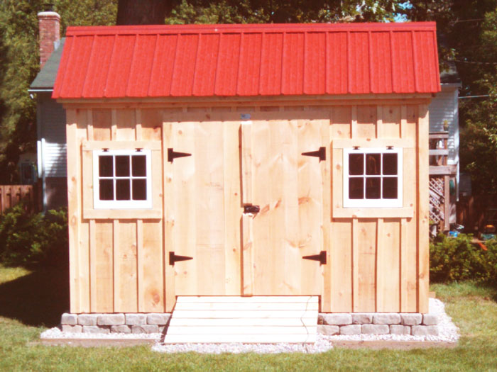 Saltbox Sheds Small Storage Shed Plans Garden Shed Kit