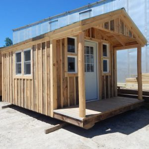 Insulated 10x16 Pond House