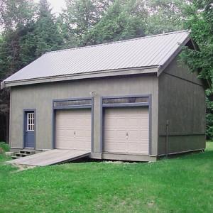 Scratch n dent jamaica cottage shop for 2 bay garage kit
