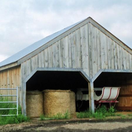 24x24 Barn Exterior