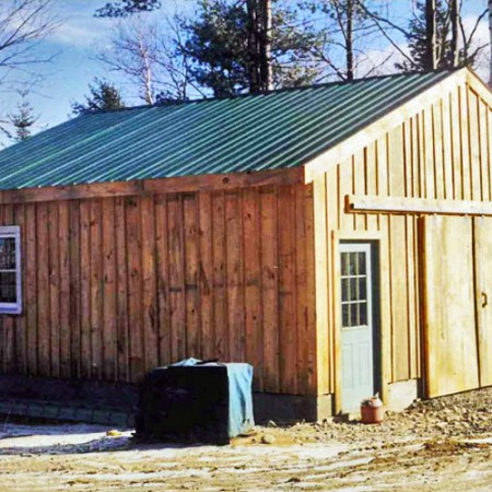 24x24 simple garage exterior for 24 by 24 garage kit