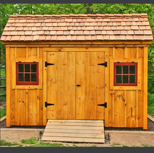 Scratch n dent jamaica cottage shop for Saltbox barn