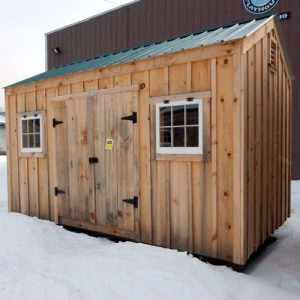 8x14 New Yorker - custom clearance shed