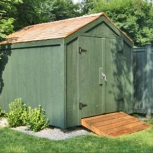 A storage shed foundation that is simple to construct for Garden shed perth