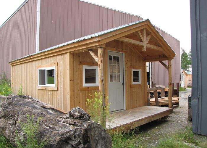 Small prefab houses small cabin kits for sale prefab for Small prefab cottages for sale