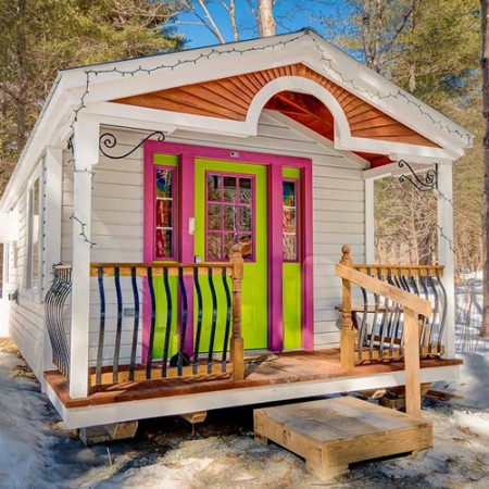 312 sq ft tiny house - Small Cabins For Sale