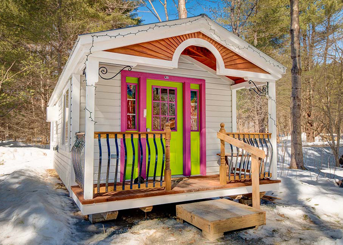 Small prefab houses small cabin kits for sale prefab for 12x12 garage door for sale
