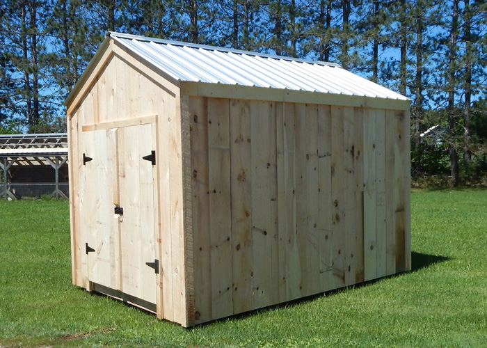 Post And Beam Shed Plans Plans For Storage Shed